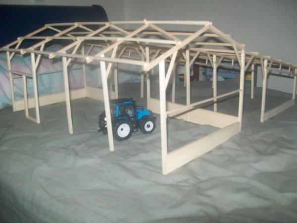 aménagement du hangar