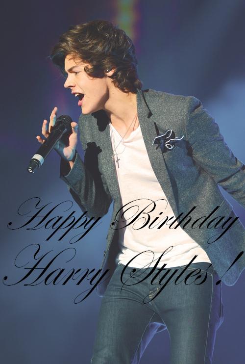 HAPPY BIRTHDAY HARRY ! ♥
