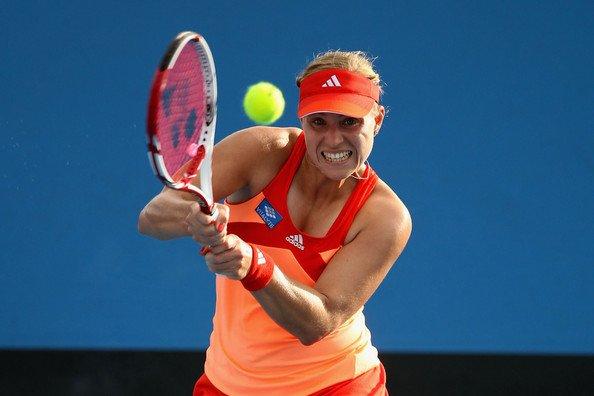 Ta source, sur la joueuse de tennis Allemande : Angélique Kerber.