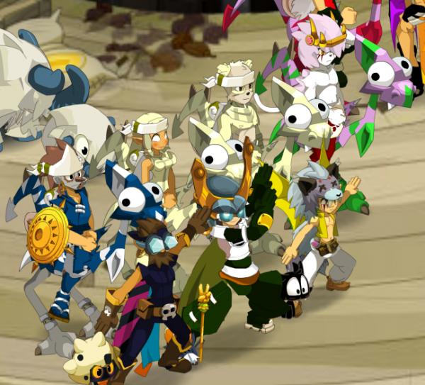 Petit aprèçue des grand membres de la guilde