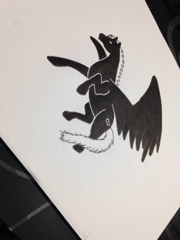 Pégase (black)