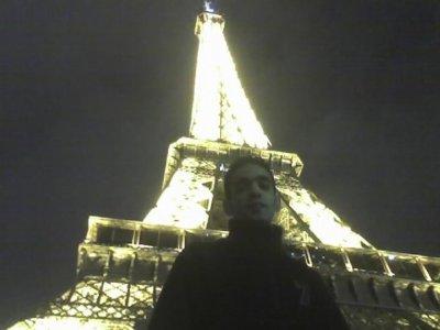paris reveillon 2008 la tour eiffel !