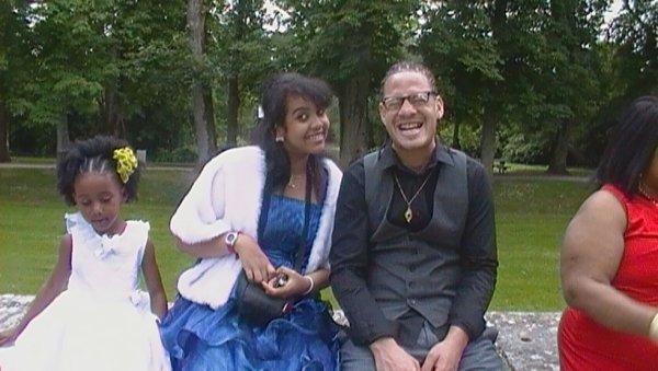 Maëlisse , Stény (Le copain de ma soeur) et moi