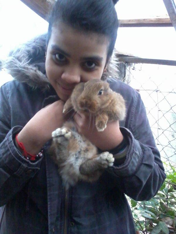 Ma petite lapine Clochette ♥