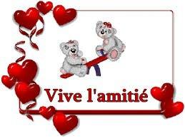 mes amis,ma vie! ;-) :-D