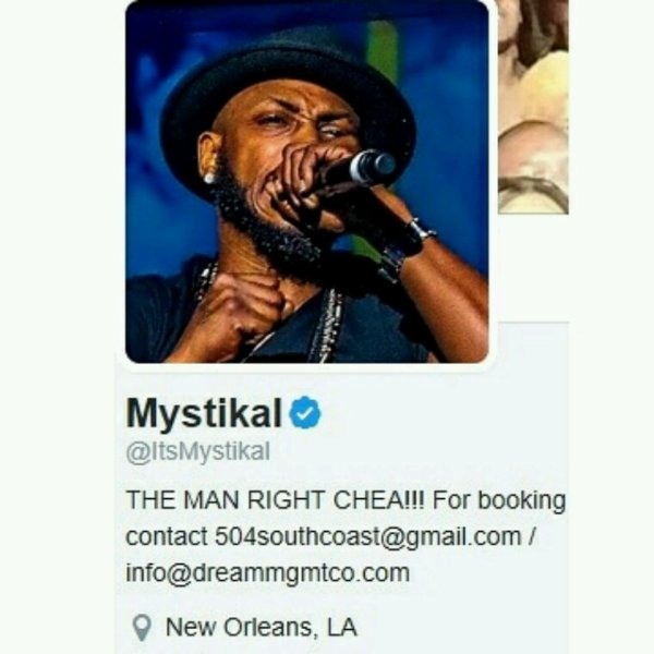 Mystikal Legendary artist who was signed to No Limit Records & Cash Money Records Thx 4 the support...Mystikal @YoungGifted3000 reverbnation.com/younggifted4
