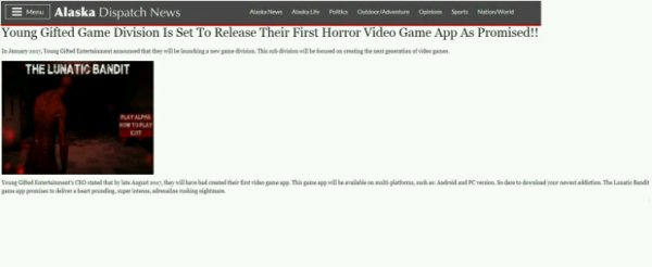 Young Gifted Game Division set to release new video game app this month!!