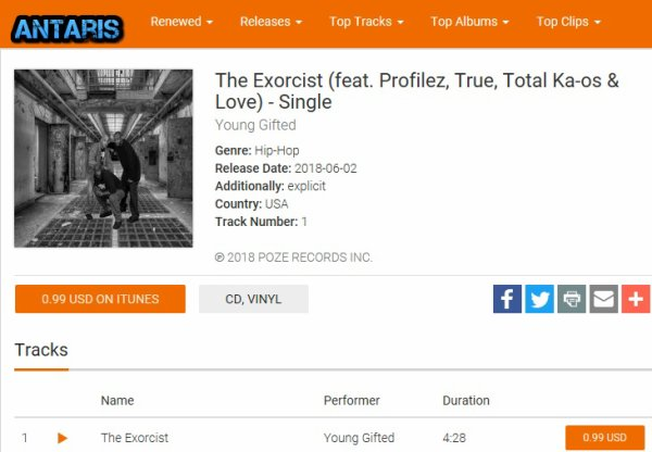 AntarisMusic .com Featuring The Exorcist By Young Gifted  http://antarismusic.com/music/1382484497/the-exorcist-feat-profilez-true-total-ka-os-love-single-young-gifted