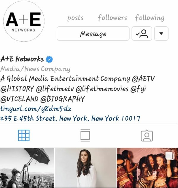 Big Shout Out To  A&E Network Television Thanks For All Support!! #YOUNGGIFTED3000