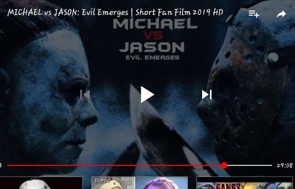 FOR ALL YOU HORROR FANS JASON VS MICHAEL MYERS  THEY BEEFING REAL HARD😲😲 https://youtu.be/rXjOA6B9sYA