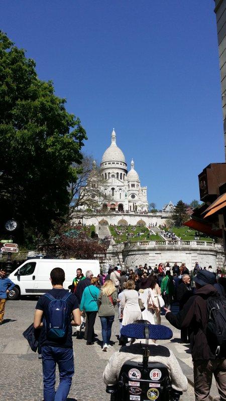 Voyage à Paris  22.04.2015