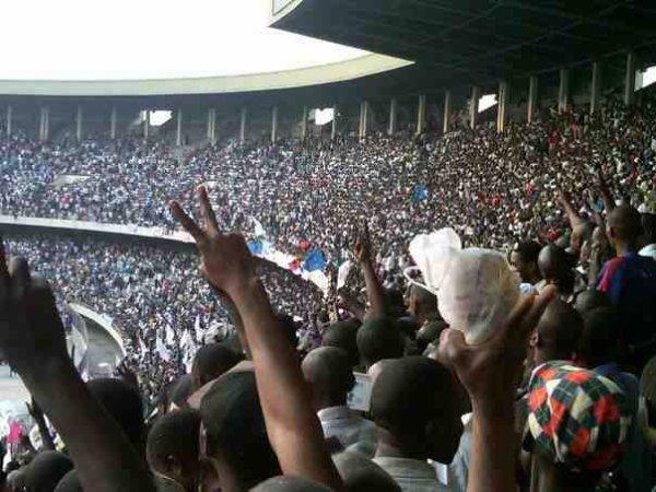 Tshisekedi: retour triomphal à Kinshasa, plus de 80.000 personnes au stade des Martyrs.Par DEDEBUNDES