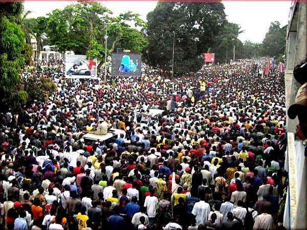 Kasaï occidental : Etienne Tshisekedi confirme sa popularité à Kananga. Par DDBS