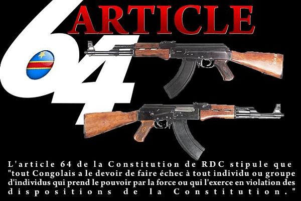 A OTTAWA LES CONGOLAIS ONT MIS LE FEU ! ARTICLE 64 DE LA CONSTITUTION DE LA RDC EN MARCHE