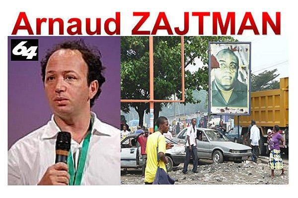 Arnaud ZAJTMAN dénonce les fraudes électorales au Congo