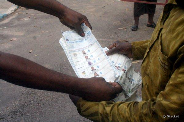 Exclusif. En images, des bulletins cochés saisis par Frank Diongo le jour du vote
