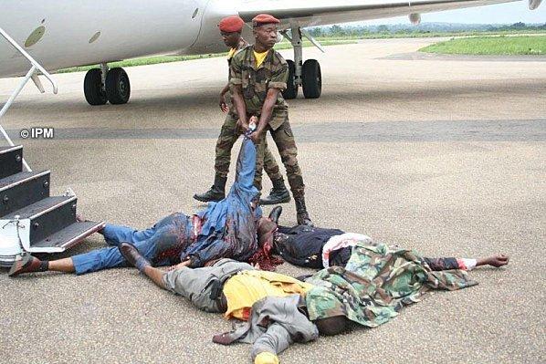 [ Images terribles] KABILA utiliserait le gaz moutarde pour tuer les Congolais !!!