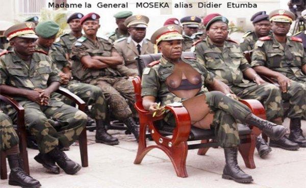 Madame la générale MOSEKA alias Didier ETUMBA