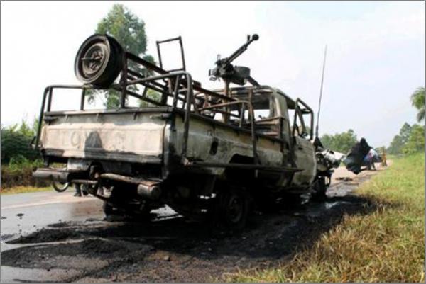 vidéo sur la mort du Col. Mamadou.