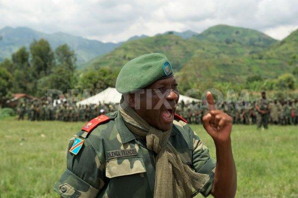 15.    Le Général d'armée François Olenga, l'artisan de la déroute du M23