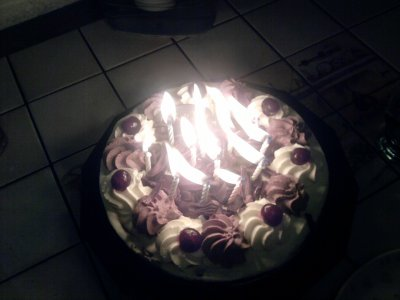 My birthday of 15 years old