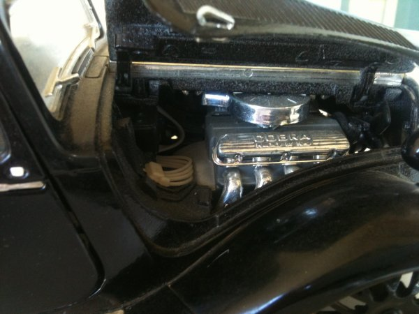 1/18 traction citroen moteur mustang