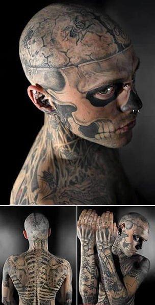 Rick Genest alias Zombie Boy