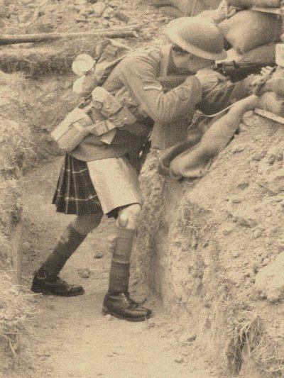 Like real Seaforth Highlanders (fin)