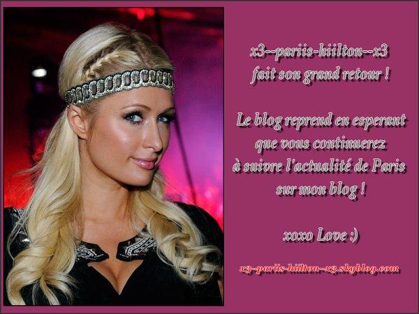 - x3--pariis-hiilton--x3.skyblog.com  reprend du service ! -