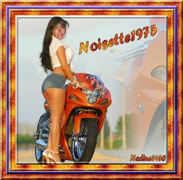 GENIALE   MON   AMIE  NADINE  !!!!!!  PAR  CE  BEAU  SOLEIL ....UNE BALADE  EN  MOTO  !!!!  MERCI   ET  KISSOUS  DE  MANON  !!!!!!!