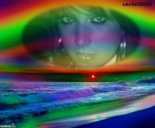 JOLI  CADEAU   DE  MON  AMIE  CECILE  !!!!!!!!!!!!  MERCI  ET  BISOUS  DE  MANON ....HYPER SYMPA  CA ........