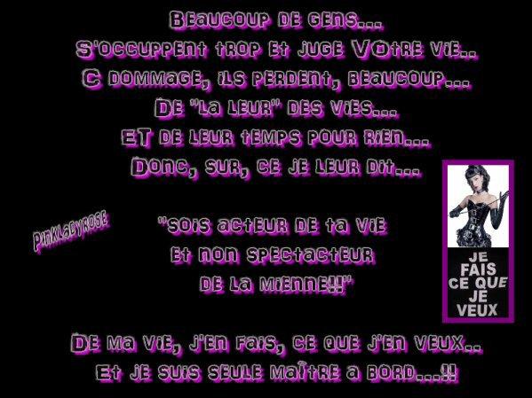 POUR  TOUS  LES  RAGEUX   !!!!!  JALOUSES   !!!!  MECHANTES  !!!!  QUI  INVENTENT  DU  NIMPORTE  QUOI   !!!!!!  RETOURNEZ  A  LA  NICHE  !!!!!  PAUVRES  GENS  !!!!!  VOUS  AVEZ  UNE  ATTITUDE   LAMENTABLE  !!!!!