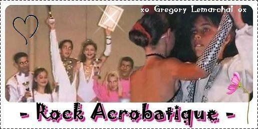 Notre ange devien champion  de rock acrobatique