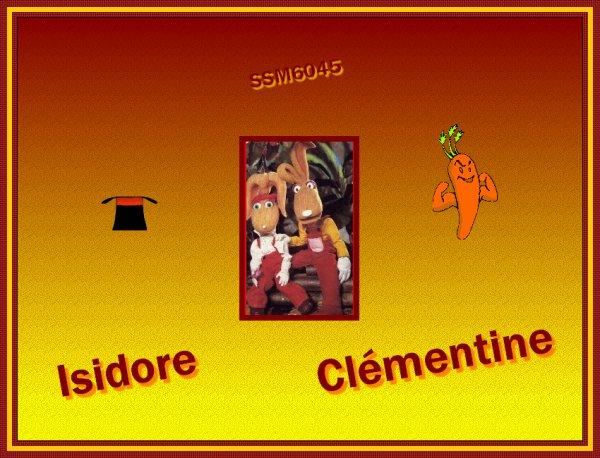 Croque-Vacances : Isidore et Clémentine
