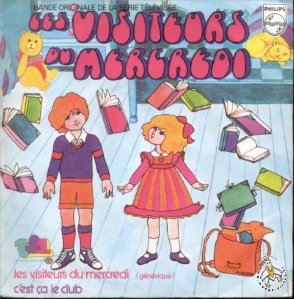 Les Visiteurs du Mercredi TF1 - Générique 1 - 1977