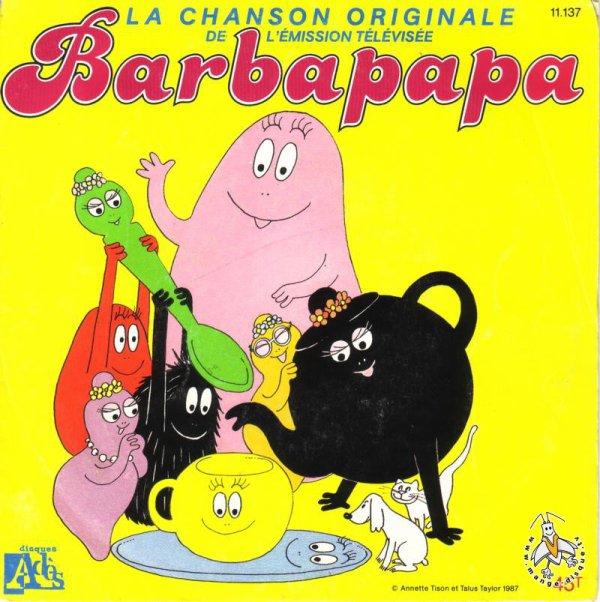 Barbapapa - Générique - 45T - 1987