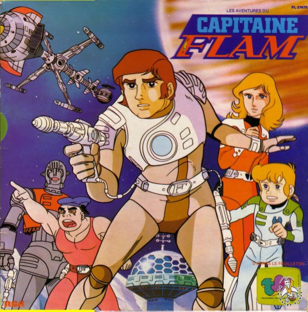 Capitaine Flam - 33 Tours - 1981