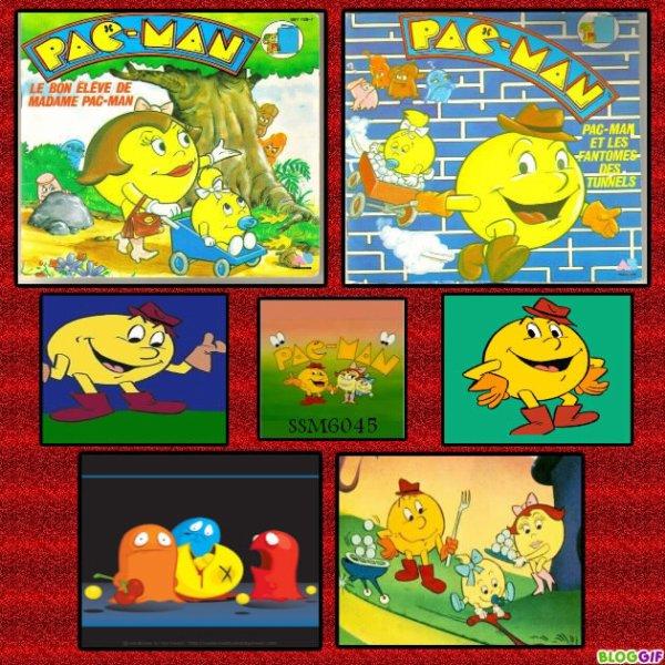 Pac Man - Générique - 45T - 1984 - Créa sur le dessin animé