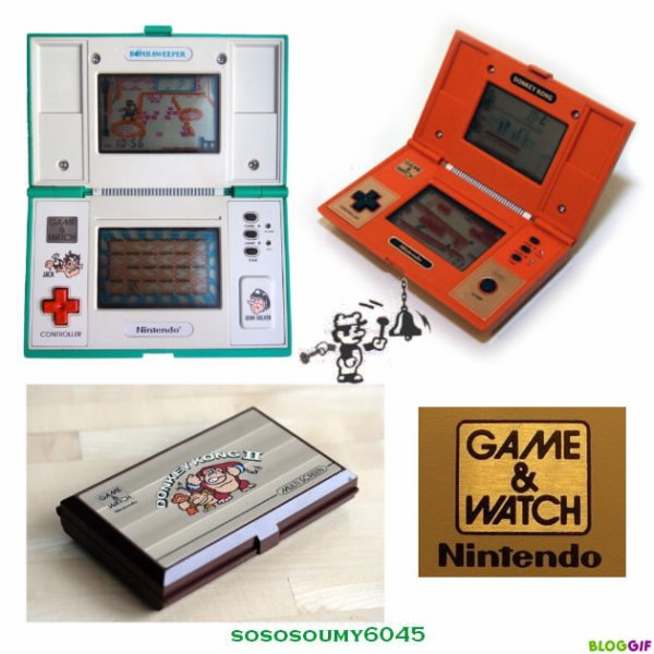 Jeux Game and Watch