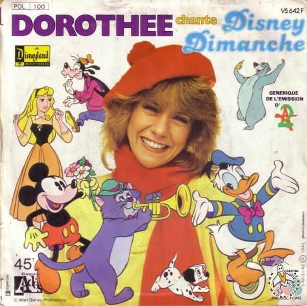 Disney Dimanche - Générique  - 45T - 1981
