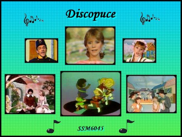 """émission """" Discopuce"""" - CD Le jardin des chansons"""
