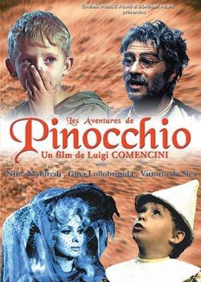 Pinocchio le film 1972