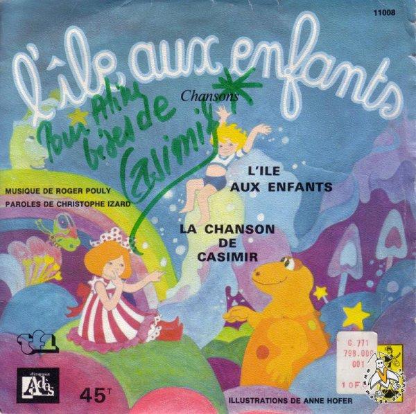 Casimir - L'île aux enfants - 45T