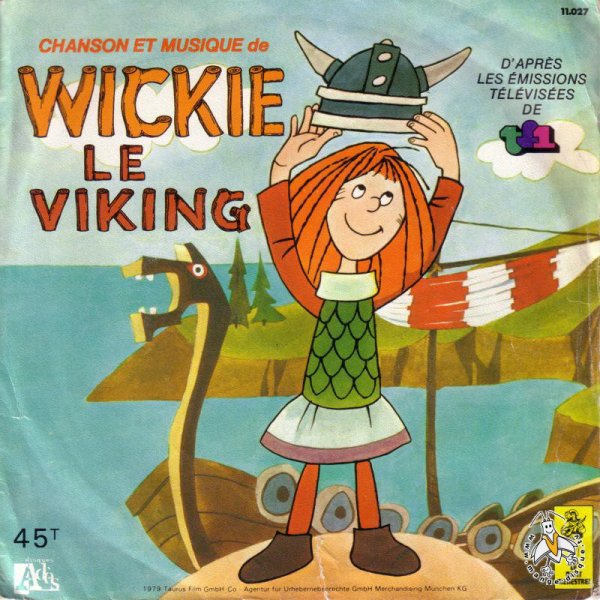 Vic le Vicking - Générique - 45T - 1979