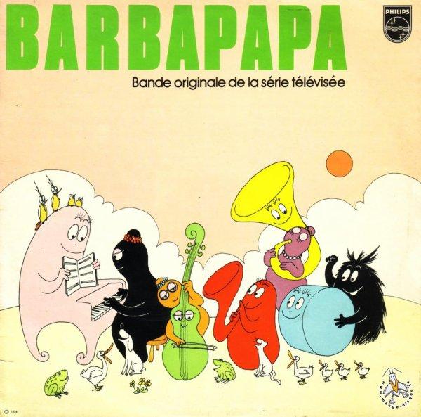 Barbapapa - Générique - 45T - 1974