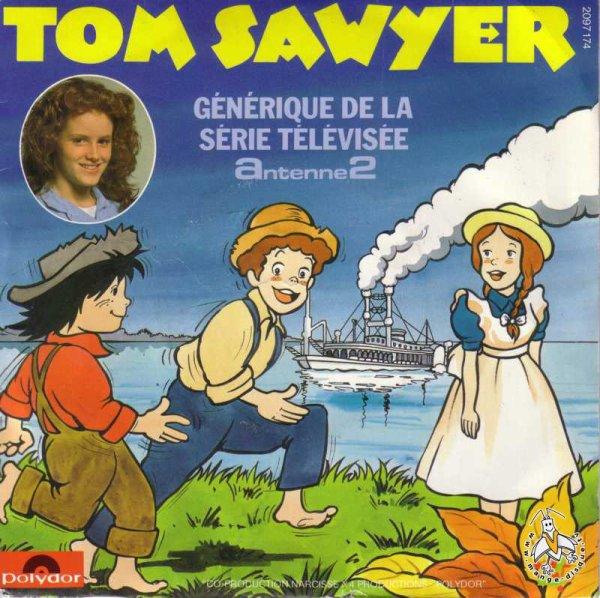 Tom Sawyer - Générique - 45T - 1982