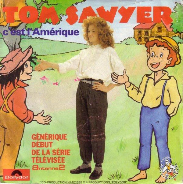 Tom Sawyer - Générique - 45T - 1983