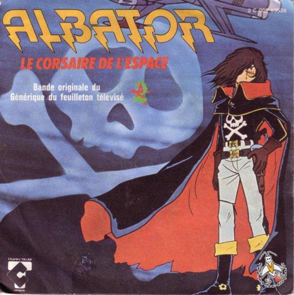 Albator - Générique - 45T - 1979