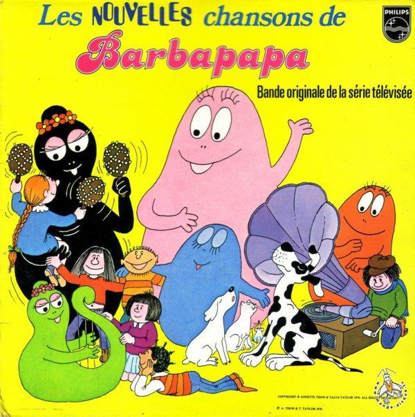 Barbapapa - Chansons - 33T - 1978