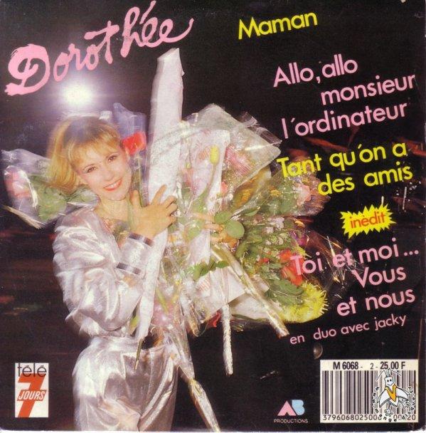 Dorothée - Allo allo Monsieur l'Ordinateur - 45T - 1981